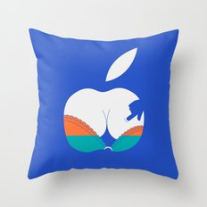 i touch Throw Pillow
