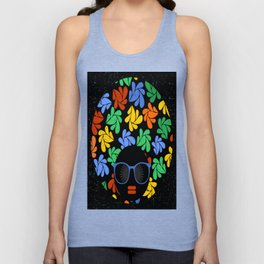 Afro Diva : Colorful Unisex Tank Top