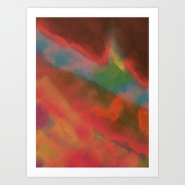 Onslaught Art Print