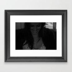 Smile back at you Framed Art Print