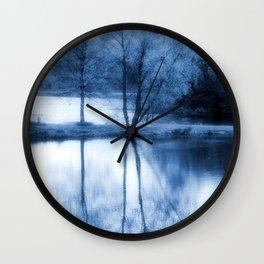 Lake Nights Wall Clock