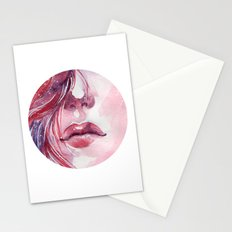 Lips  Stationery Cards