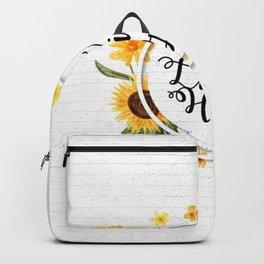 A Living Hope Backpack