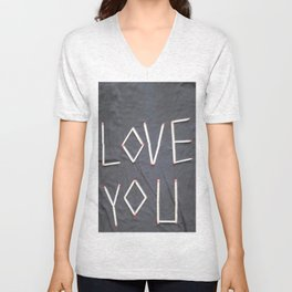 Love you Unisex V-Neck