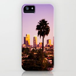 Silverlake Sunset iPhone Case