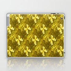 Golden Bows  Laptop & iPad Skin