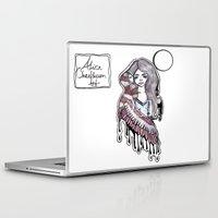 selena gomez Laptop & iPad Skins featuring Selena by meowkitty17