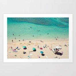 Waikiki Beach - Honolulu, Hawaii Art Print