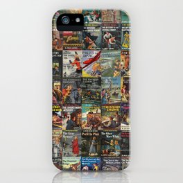 Vintage childrens' mystery series books iPhone Case