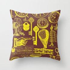 Victoriana Throw Pillow