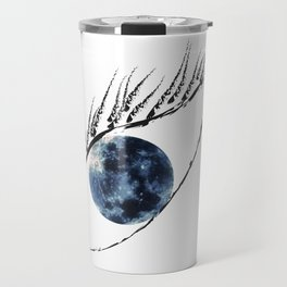 The moon in your eyes Travel Mug