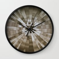 stargate Wall Clocks featuring Stargate by Elaine C Manley