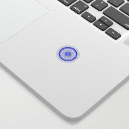 Snowflake #008 transparent Sticker