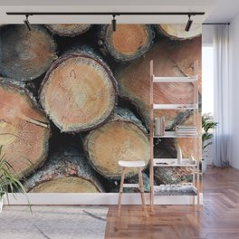 In the Woods Wall Mural