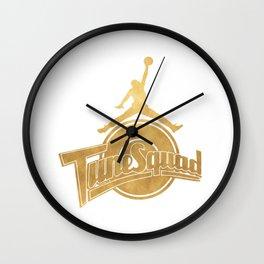 Tune Squad T Shirt Wall Clock