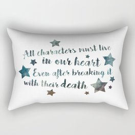 All characters lives Rectangular Pillow