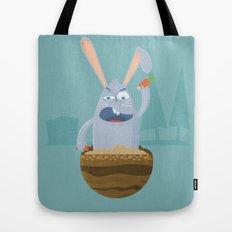 Fake Food Rabbit Tote Bag