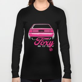 Foxy Body Pink Long Sleeve T-shirt