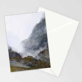 Nameless Mountains Stationery Cards