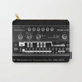 TB 303 blk / wht  Carry-All Pouch