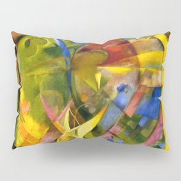"Franz Marc ""Cheerful Forms"" Pillow Sham"