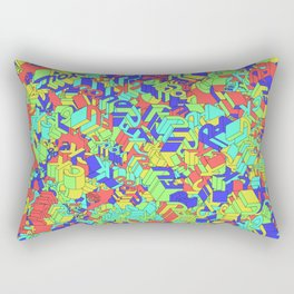 Fuck you Colors Rectangular Pillow