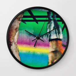 Hanging Meat Wall Clock