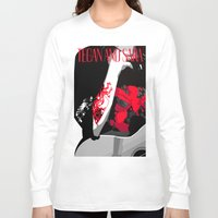 tegan and sara Long Sleeve T-shirts featuring Tegan and Sara Ugly Sweater Party by REBEL -Lion