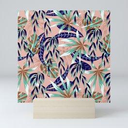 Abstract graphic nature 01 Mini Art Print