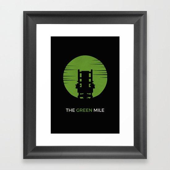 The Green Mile Minimalist Framed Art Print