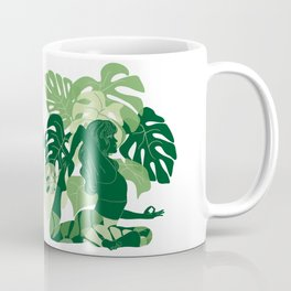 One-Legged King Pigeon Pose Coffee Mug
