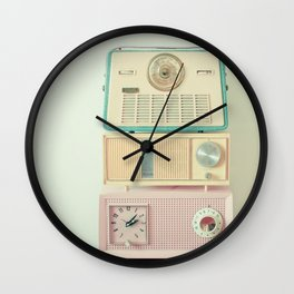 Radio Stations Wall Clock