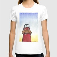lighthouse T-shirts featuring Lighthouse by Jackie Sullivan
