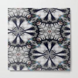 Collaged Pattern 2 Metal Print