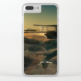 1968 Dodge Charger R/T - The Last Charger Clear iPhone Case
