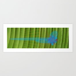 geometric kaos Art Print