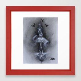 Skellerina Framed Art Print