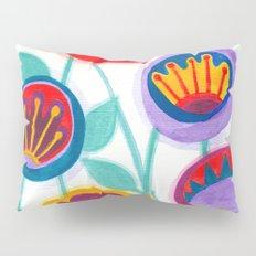 raw flower garden Pillow Sham