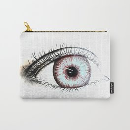 Looking In #2 - Original sketch to digital art Carry-All Pouch