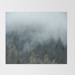 The Smell of Earth - Nature Photography Throw Blanket