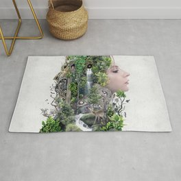 Duality of Nature Rug