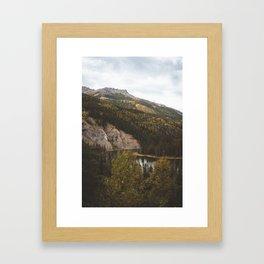 Horseshoe Lake II Framed Art Print