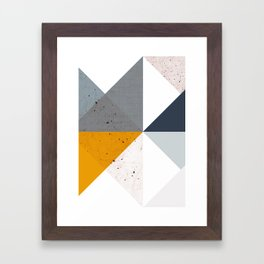 Modern Geometric 17/2 Framed Art Print