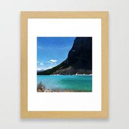 Landscape of Lake Louise Framed Art Print