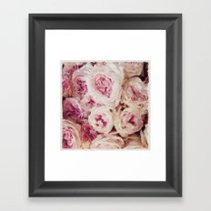 Painted Roses Framed Art Print
