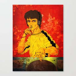DJ Lee Canvas Print