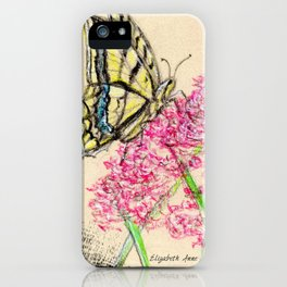 Collette's butterfly iPhone Case