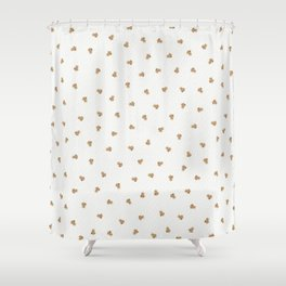 Baby Lion with Flower Crown Shower Curtain