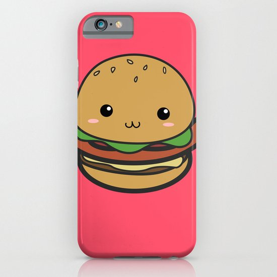 Cute Hamburguer iPhone & iPod Case