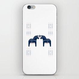 Dala Horse iPhone Skin